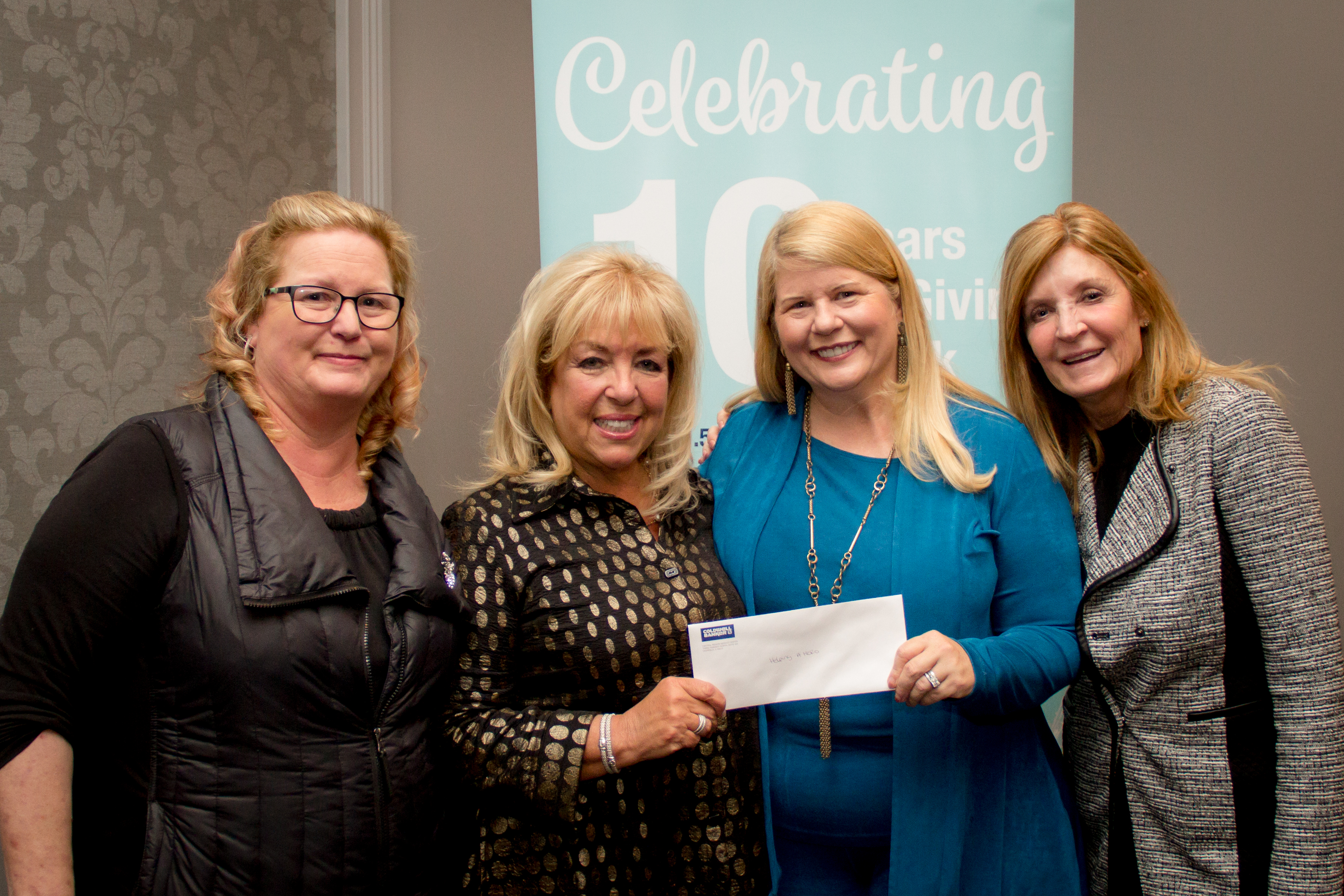 Foundation Check Presentation & Partner Event